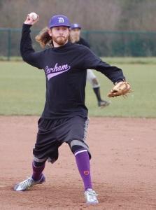 Brad Pitching